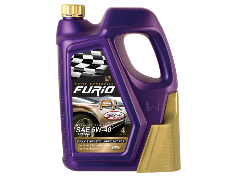 BANGCHAK GE Gold fully synthetic engine oil gasoline API SN ILSAC GF-5 Dexos1 FURiO F1 PREMIUM 5W 40 5W-40 5W40 Respoplex  fully synthetic 100% engine oil gasoline API SN/CF