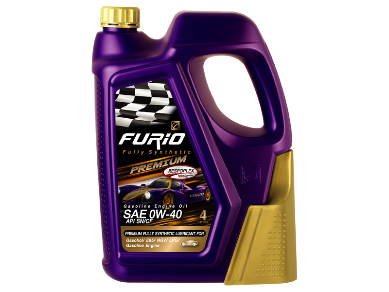 FURIO FULLY SYNTHETIC PREMIUM SAE 0W-40