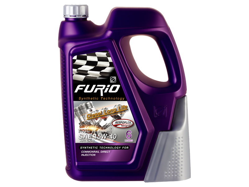 FURIO SYNTHETIC TECHNOLOGY DIESEL LONG LIFE 15W-40