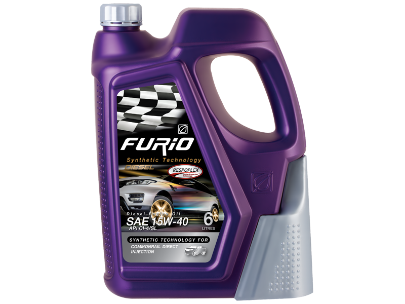 FURIO SYNTHETIC TECHNOLOGY DIESEL 15W-40