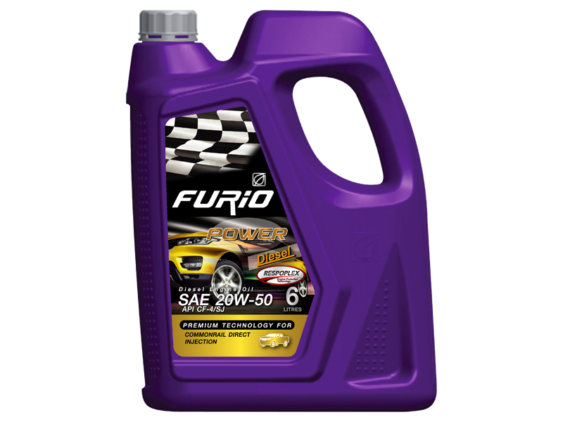 FURIO POWER is engine oil which designed to use with gasoline direct injection (DIG) and Port Fuel Injector (PFI).