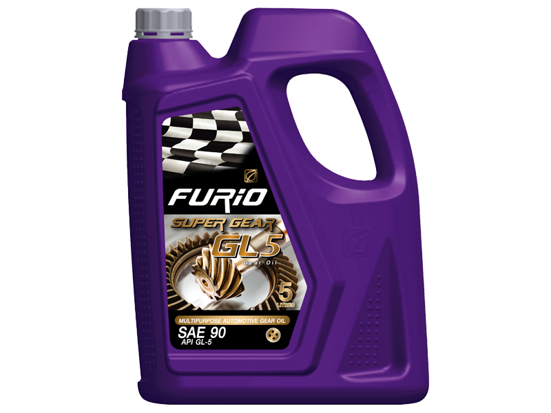 FURiO SUPER GEAR GL-5  is a multipurpose extreme pressure gear oil hypoid and spiral-bevel gears