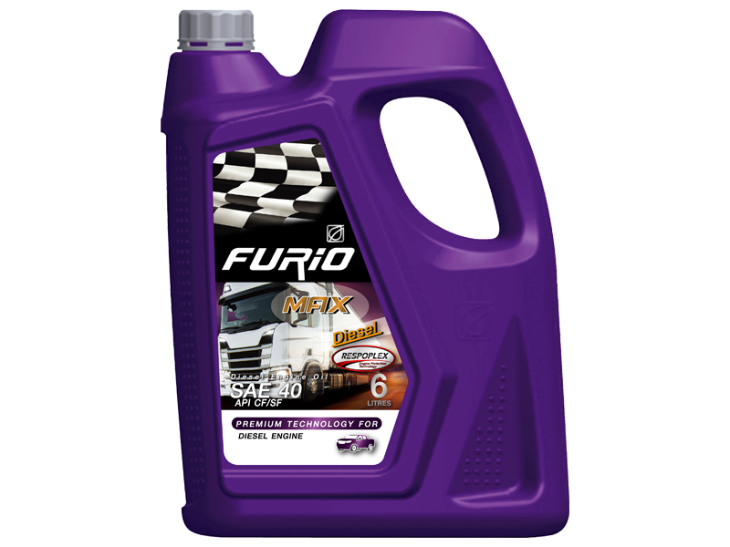 FURIO MAX DIESEL is the superior quality single grade diesel engine oil for heavy duty automotive