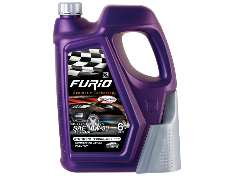 FURIO SYNTHETIC TECHNOLOGY DIESEL 10W-30